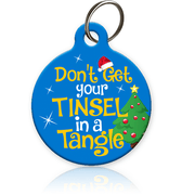 Tinsel Tangle Pet ID Tag