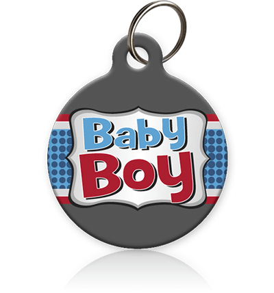 Baby Boy Cat ID Tag