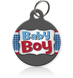 Baby Boy - Cat ID Tag