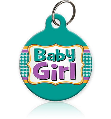 Baby Girl Cat ID Tag