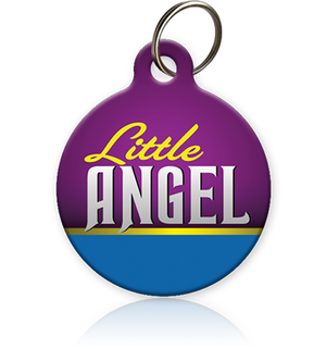 Little Angel - Cat ID Tag