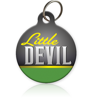 Little Devil Cat ID Tag