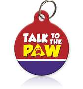 Talk 2 the Paw - Cat ID Tag