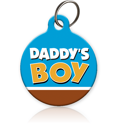 Daddy's Boy - Cat ID Tag