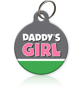 Daddy's Girl Cat ID Tag - Aw Paws