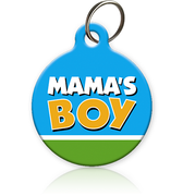 Mama's Boy Cat ID Tag
