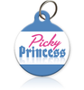 Picky Princess Cat ID Tag