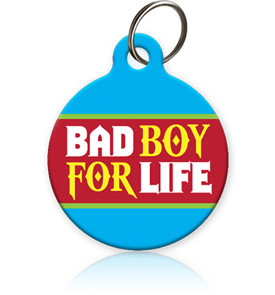 Bad Boy 4 Life Cat ID Tag