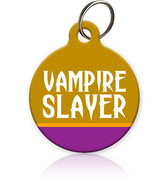 Vampire Slayer - Cat ID Tag