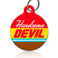 Handsome Devil Cat ID Tag - Aw Paws