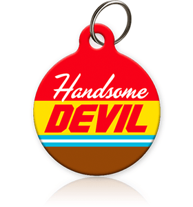 Handsome Devil - Cat ID Tag