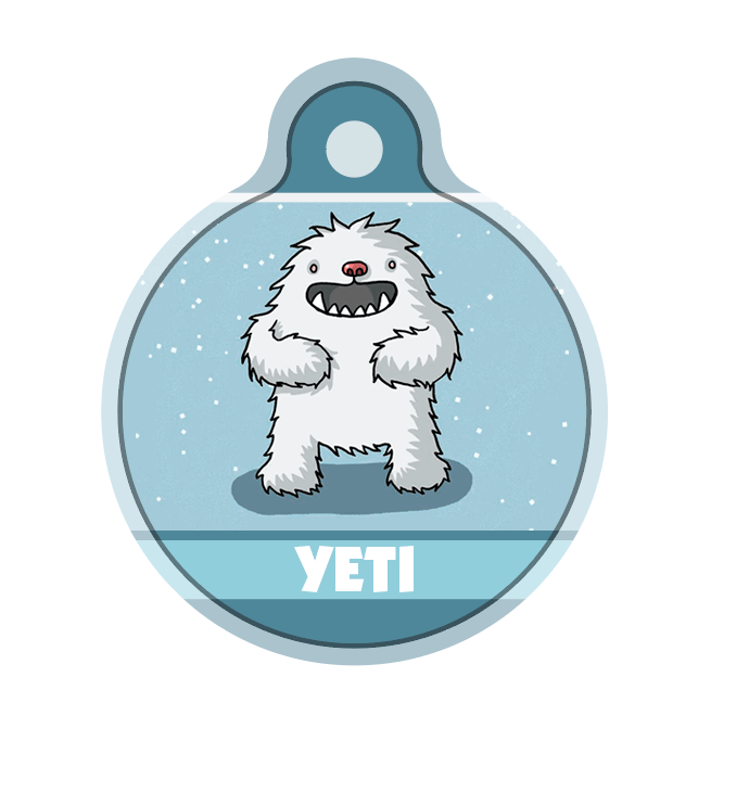Yeti CUSTOM TAG - Aw Paws
