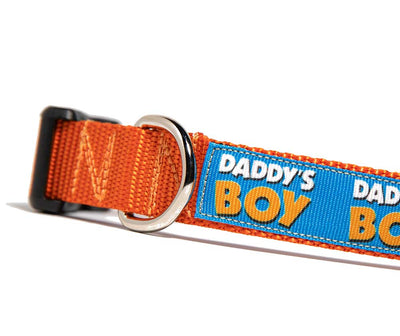 Daddy's Boy Dog Collar