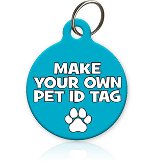 Make your own pet iD tag