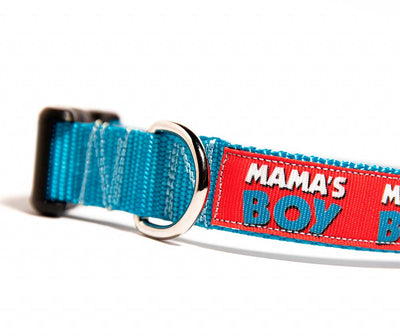 Mama's Boy Dog Collar