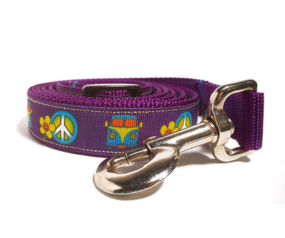 Peace Sign Dog Leash