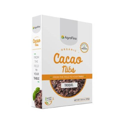 organic cacao pure nibs 300g (bx16) | AGROFINO