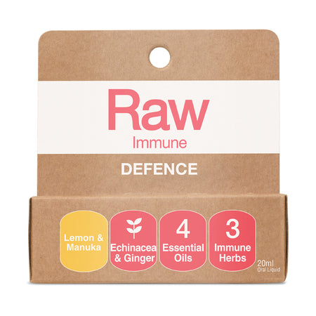 Amazonia Raw Immune Defence Spray Lemon & Manuka 20ml