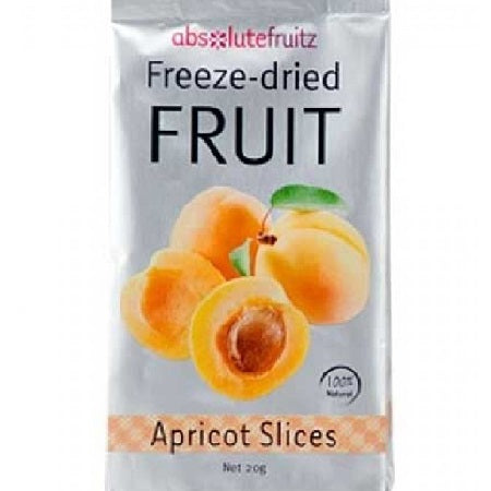 Absolute Fruitz Freeze Dried Apricot Slices 20g | ABSOLUTE FRUITZ