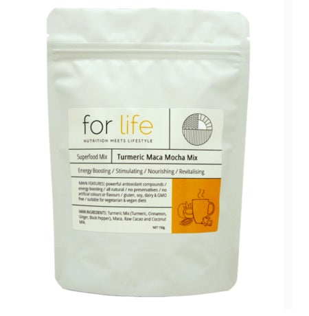 turmeric maca mocha mix 150g | FOR LIFE