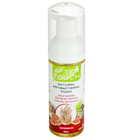 natural hand sanitising foam watermelon 50ml (bx12) | AFTER TOUCH