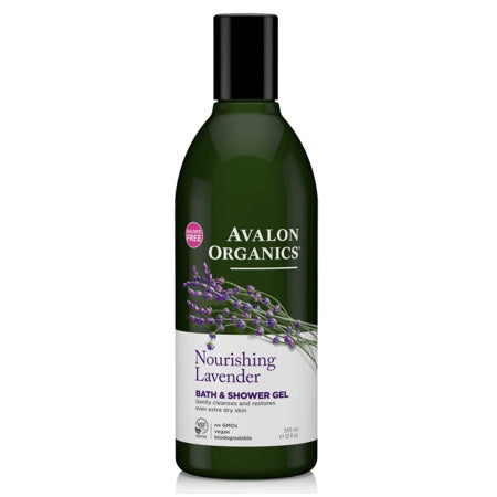 Avalon Nourishing Lavender Bath & Shower Gel 355ml | AVALON