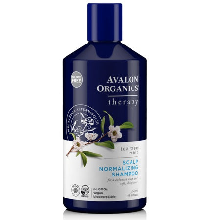 Avalon Scalp Normal Shampoo Tea Tree Mint 414ml | AVALON