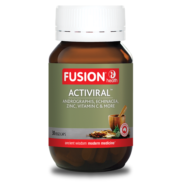 Fusion Health Activiral 30vcaps
