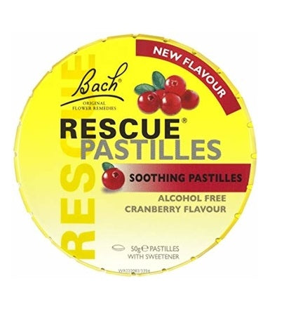 Bach Rescue Remedy Pastilles Cranberry 50G (Bx12) | BACH RESCUE REMEDY