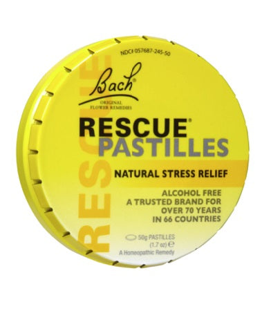 Bach Rescue Remedy Pastilles 50G (Bx12) | BACH RESCUE REMEDY