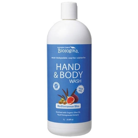 Biologika Organic Mediterranean Bliss Hand & Body Wash 500ml