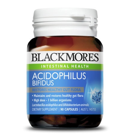 Blackmores Acidophilus Bifidus 90Caps (01808) | BLACKMORES