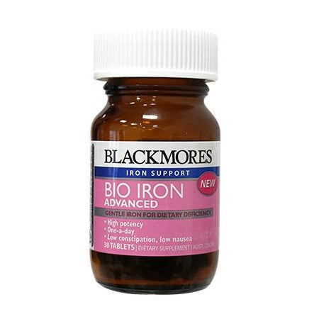 Blackmores Bio Iron Advanced 30Tabs | BLACKMORES
