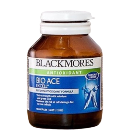 Blackmores Bio Ace Excell 80Caps (01907) Vitamin E | BLACKMORES