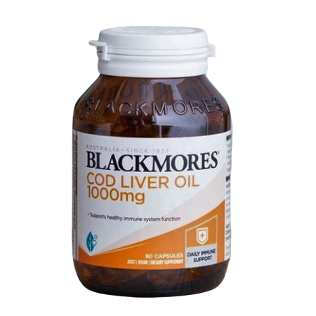 Blackmores Cod Liver Oil 1000Mg 80Caps Complex | BLACKMORES