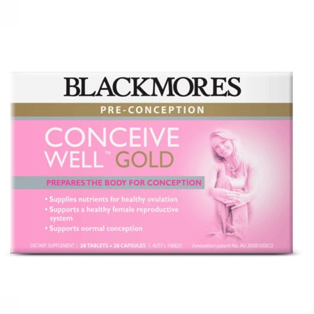 Blackmores Conceive Well Gold 56Tabs (23793) Complex | BLACKMORES