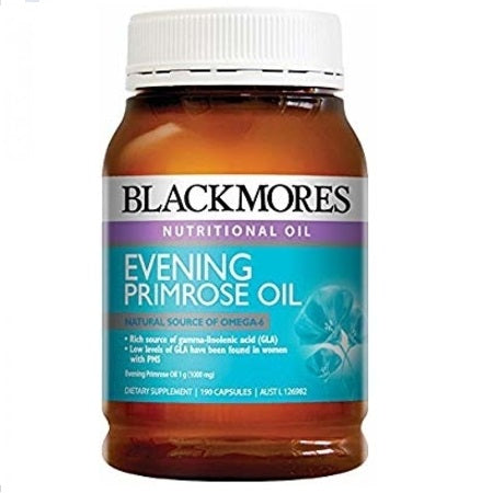 Blackmores Evening Primrose Oil 1000Mg 190Caps (28937) Epo (Evening Primrose Oil) | BLACKMORES