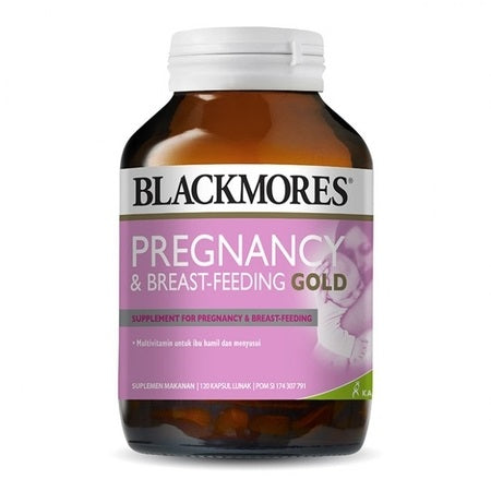 Blackmores Pregnancy & Breast Feeding Gold 180Caps Complex | BLACKMORES