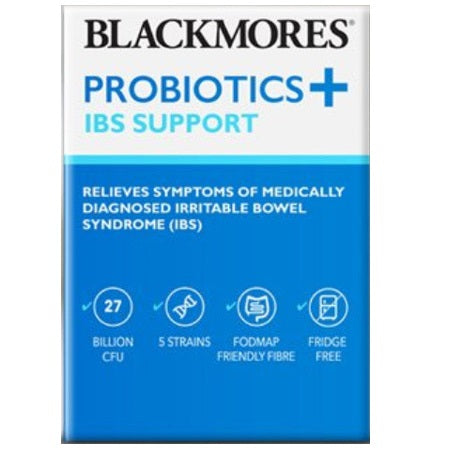 probiotics + bowel support 7.7g 30pk | BLACKMORES