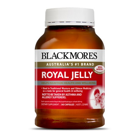 Blackmores Royal Jelly 550Mg 365Caps *Order On Demand* | BLACKMORES