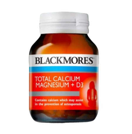 Blackmores Total Calcium And Magnesium & D3 60Tabs Complex | BLACKMORES