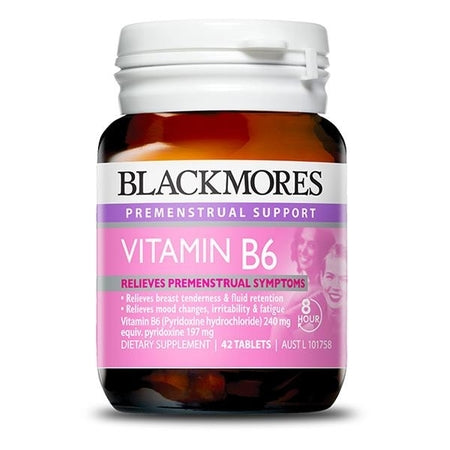 Blackmores Vitamin B6 240Mg 42Tabs B6 | BLACKMORES