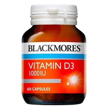 Blackmores Vitamin D3 1000Iu 60Caps Vitamin D3 | BLACKMORES