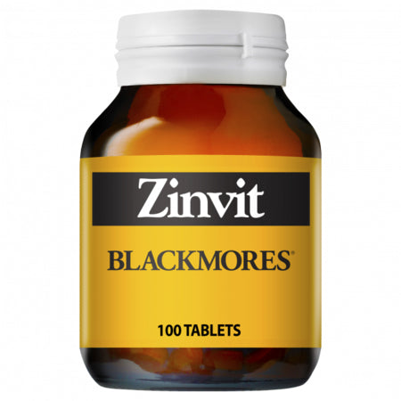 Blackmores Zinvit 100Caps (11802) Zinc (Zn) | BLACKMORES