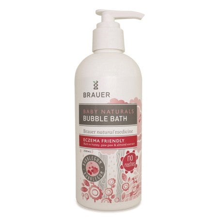 baby naturals baby bubble bath bubble gum 250ml | BRAUER NATURAL