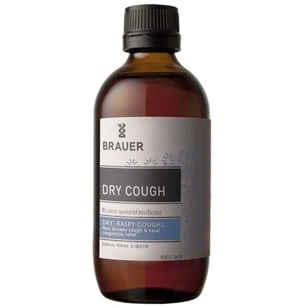 dry cough 200ml | BRAUER NATURAL