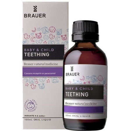 Brauer Natural Baby & Child Teething Relief 100ml | BRAUER NATURAL