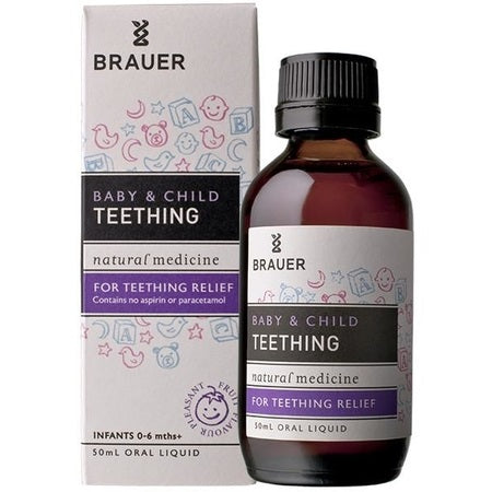 Brauer Natural Baby & Child Teething Relief 50ml | BRAUER NATURAL