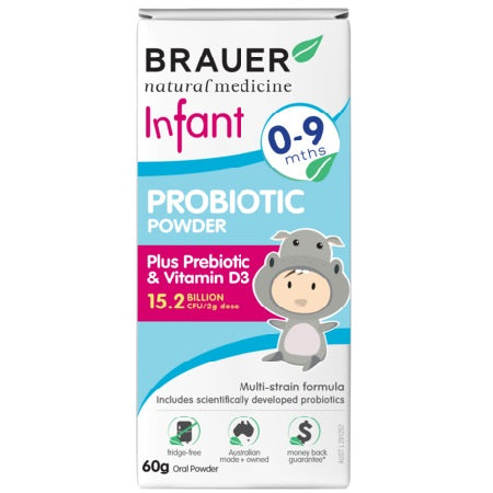 Brauer Natural Infant Probiotic Powder 60g