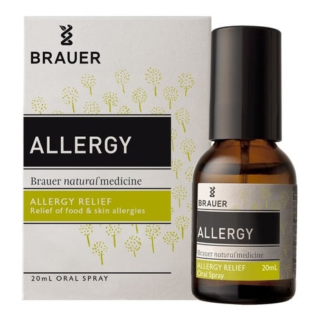allergy relief oral spray 20ml | BRAUER NATURAL